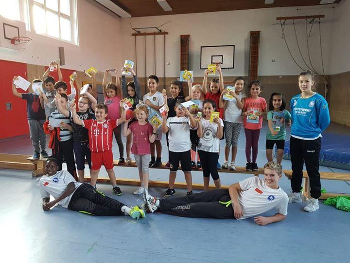 4 Grundschulaktionstage in einer Woche führt der TB Pforzheim durch. Haidachschule, Südstadtschule, Buckenbergschule und…