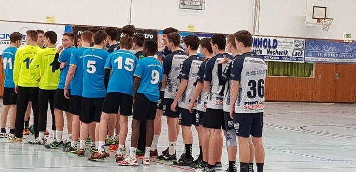 +++ mB Jugend +++ Zum letzten Spiel des Jahres musste die mB nach Langensteinbach…