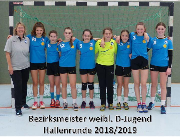 +++ wD Jugend +++ Bezirksmeister 2018/2019 Die wD machte es im letzten Spiel der…