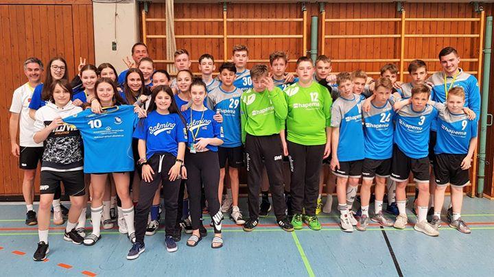 Ein Dank an die mC Jugend der SG Pforzheim/Eutingen die unsere Mädels beim Spiel…