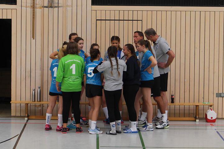 +++ wC Jugend +++ 17:14 Sieg gegen TV Bammental Nach Spielende kamen die TB-C-Girls…