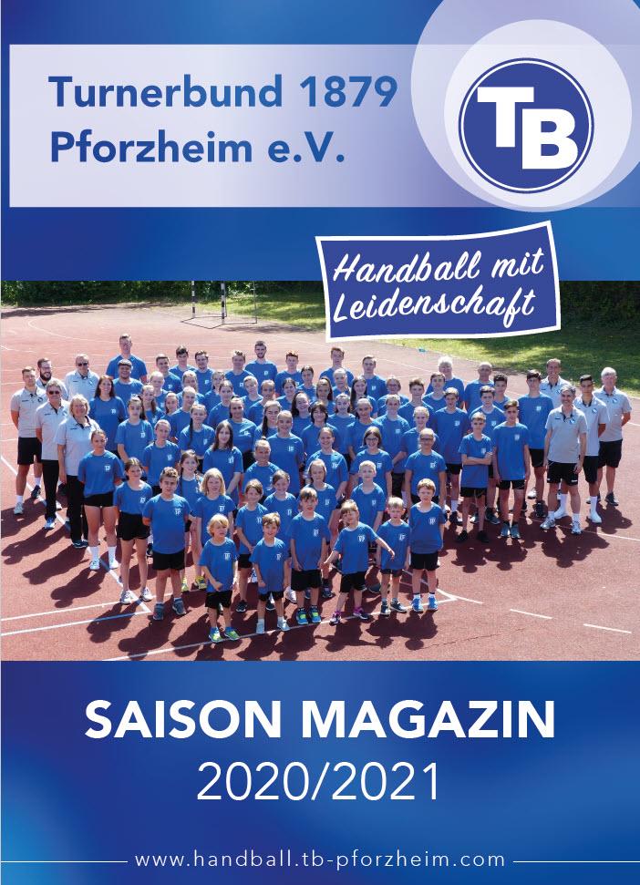 Saisonheft TB-Pforzheim 2020/2021
